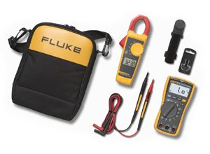 Fluke 117 and 323 Electricians Multimeter Combo Kit