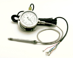 CTG6MA or V Melt Pressure Gauge With Transmitter Output