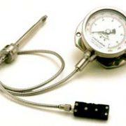 CTG6MA or V Melt Pressure & Temperature Gauge With Transmitter Output