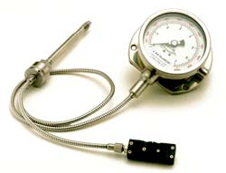 CTG6MA or V Melt Pressure & Temperature Gauge With Transmitter Output