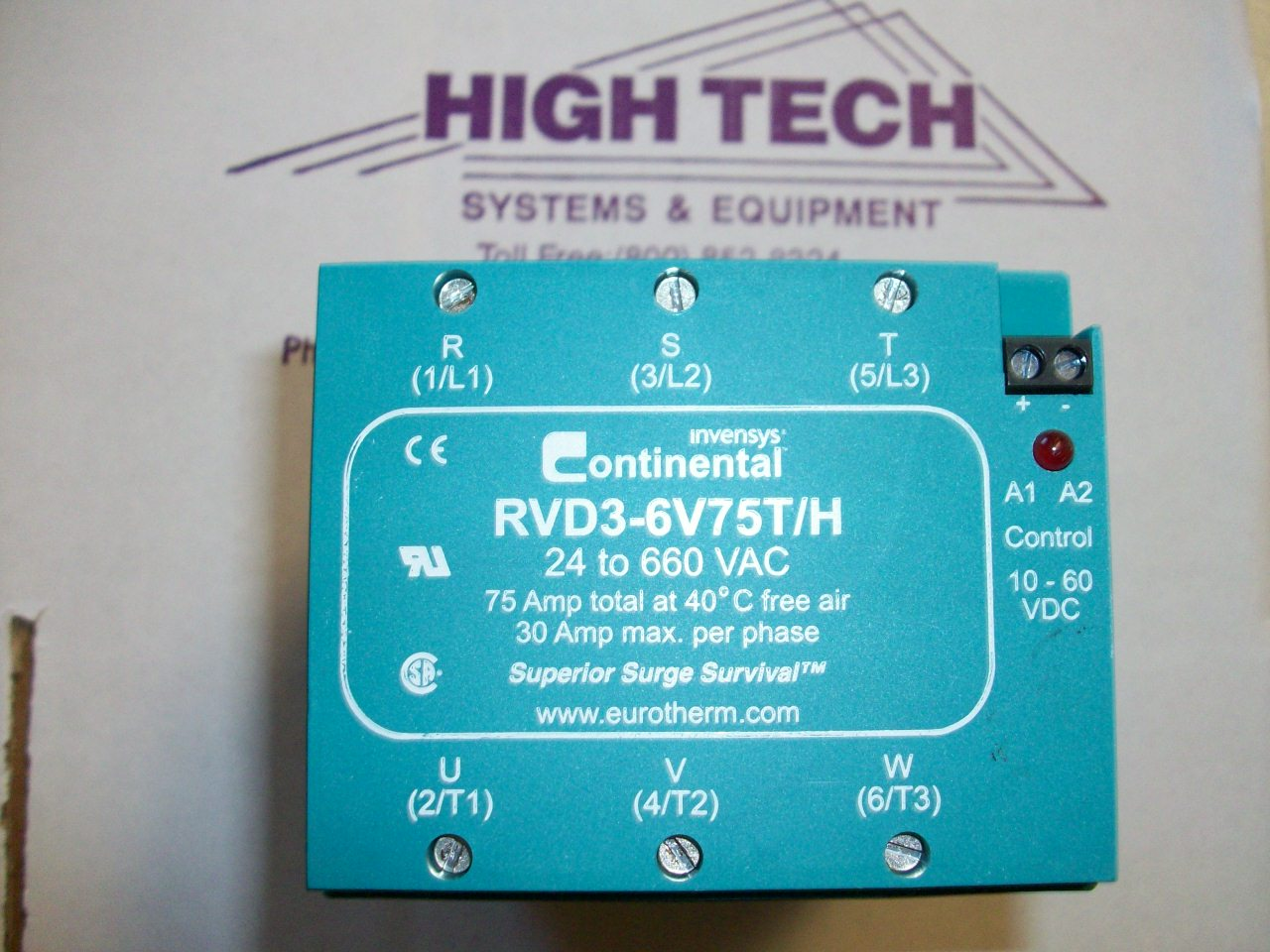 rvd3 din rail three phase solid state relays