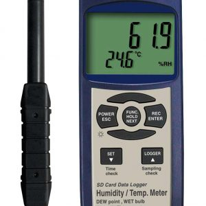 Reed Instruments SD-3007 Thermo-Hygrometer Type K Thermocouple Data Logger