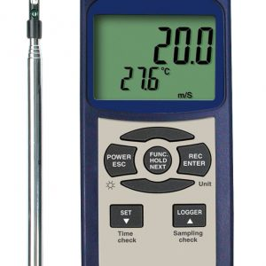Reed Instruments SD-4214 Thermo-Anemometer Data Logger