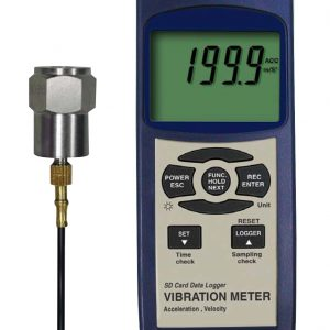 Reed Instruments SD-8205 Vibration Meter Data Logger