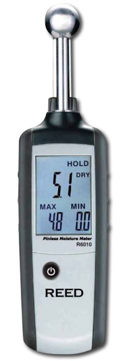 Reed Instruments R6010 Moisture Detector (Replace ST-128M)