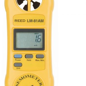 Reed Instruments LM-81AM Rotating Vane Anemometer