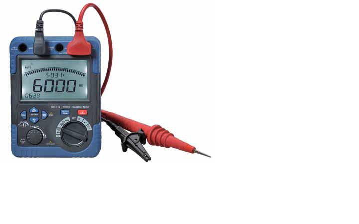 Reed Instruments R5002 Insulation Resistance Tester