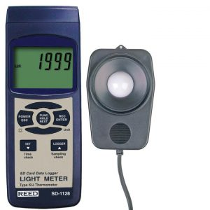 Reed Instruments SD-1128 Light Meter SD Card Data Logger