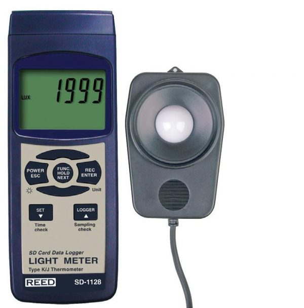 Reed Instruments SD-1128 Light Meter SD Card Data Logger