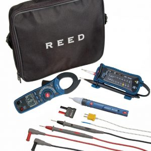 Reed Instruments ST-ELECTRICKIT CLAMP METER/VOLTAGE TESTER COMBO KIT