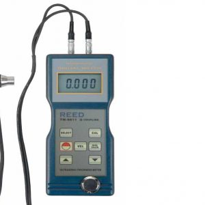 Reed Instruments TM-8811 Ultrasonic Thickness Gauge & Probe with Velocity