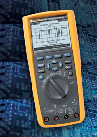 Fluke 287 True-rms Electronics Logging Multimeter with TrendCapture Handheld Multimeter