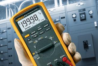 Fluke 87V/E2 Industrial Electrician Combo Kit 87-5/E2 Kit