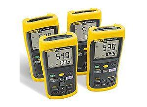 Fluke 53 II Single Input Digital Thermometer with Data Logging