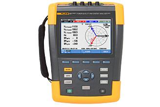 Fluke 437 Series II 400 Hz Power Quality and Energy Analyzer