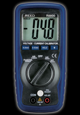 Reed Instruments R8800 Voltage Current Calibrator