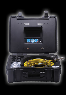 Reed Instruments R9000 Pipe Video Inspection System