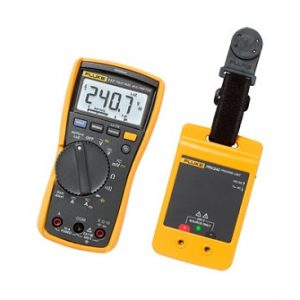Fluke 117 DMM / PRV240 Proving Unit Kit