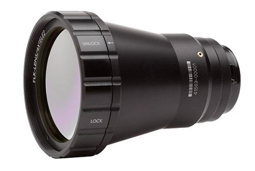 Fluke Lens-4XTELE2 4x Telephoto Infrared Smart Lens FLK-LENS/4XTELE2 4X TELEPHOTO IR LENS FOR TiX560-TiX520-Ti400-Ti300-Ti200