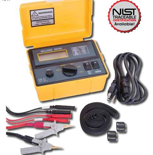 Reed Instruments K5090-NIST Milli-Ohmmeter