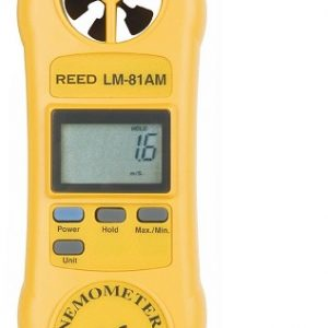 Reed Instruments LM-81AM-NIST Rotating Vane Anemometer LM81AM-NIST