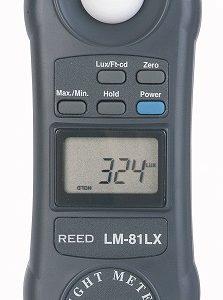 Reed Instruments LM-81LX-NIST Light Meter LM81LX-NIST