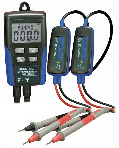 Reed Instruments R5003-NIST AC Voltage and Current Data Logger