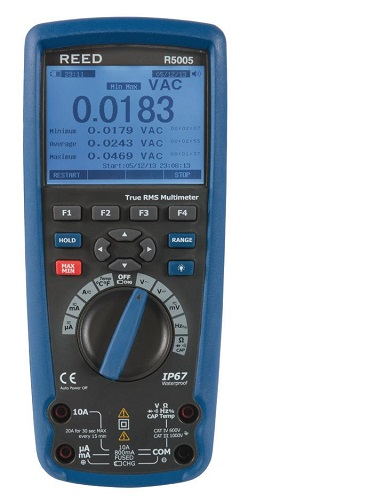 Reed Instruments R5005-NIST True RMS Multimeter