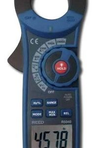 Reed Instruments R5040-NIST 1000A AC/DC True RMS Clamp Meter