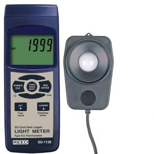 Reed Instruments SD-1128-NIST Light Meter SD Card Data Logger SD1128-NIST