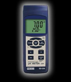 Reed Instruments SD-230 pH ORP Meter Data Logger