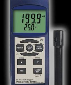 Reed Instruments SD-4307 Conductivity TDS Salinity Meter Data Logger