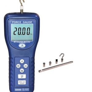 Reed Instruments SD-6020-NIST Force Gauge/SD Card Data Logger, 20.00kg, SD6020-NIST