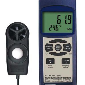 Reed Instruments SD-9300-NIST Environmental Multifunctional Meter Data Logger SD9300-NIST