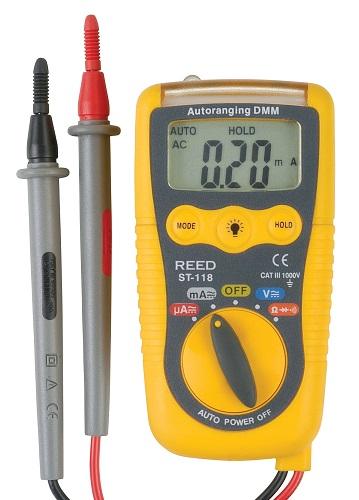 Reed Instruments ST-118-NIST Multimeter-Voltage Detector ST118-NIST