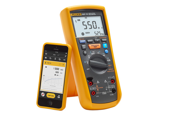 Fluke 1587 Fc Insulation Multimeter High Tech Systems