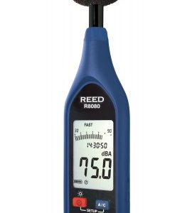 Reed Instruments R8080 Sound Level Meter