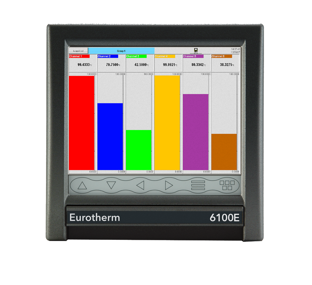 Eurotherm 6100e Paperless Graphic Recorder High Tech